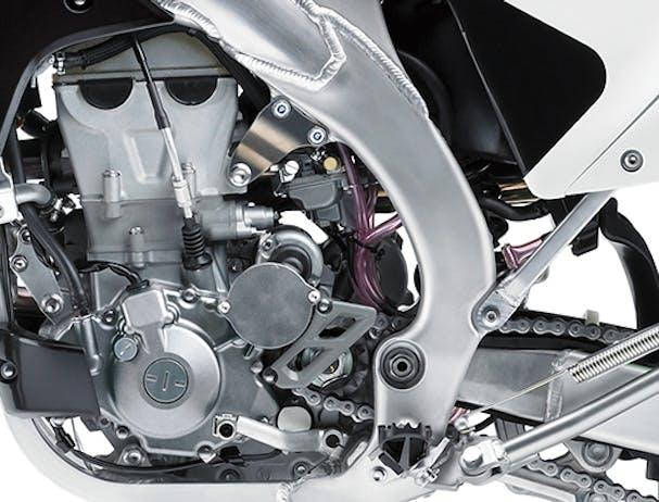 Kawasaki KLX450R engine