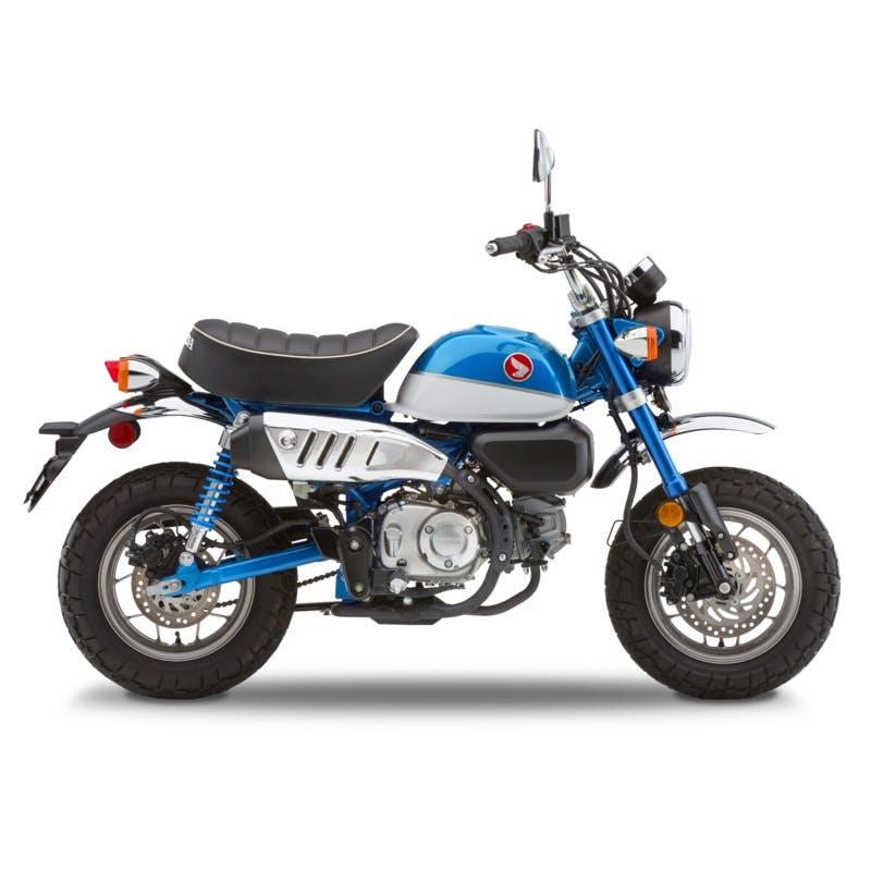 Honda Monkey in Pearl Glittering Blue colour