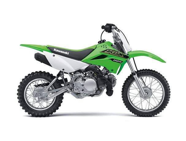 Kawasaki KLX110R in Lime Green colour