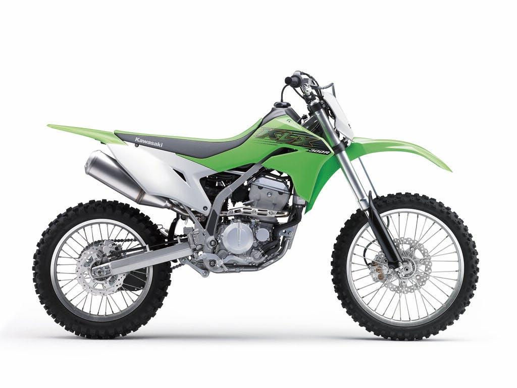 Kawasaki KLX300R in Lime Green colour