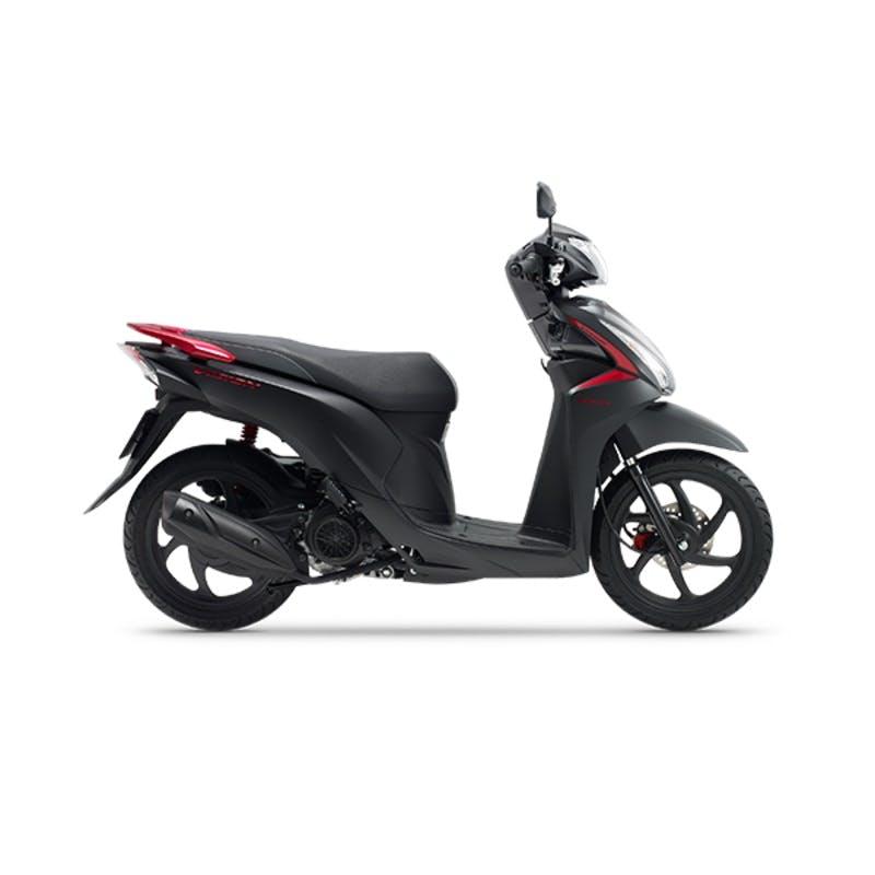 Honda NSC110 Dio in Matte Galaxy Black Metallic