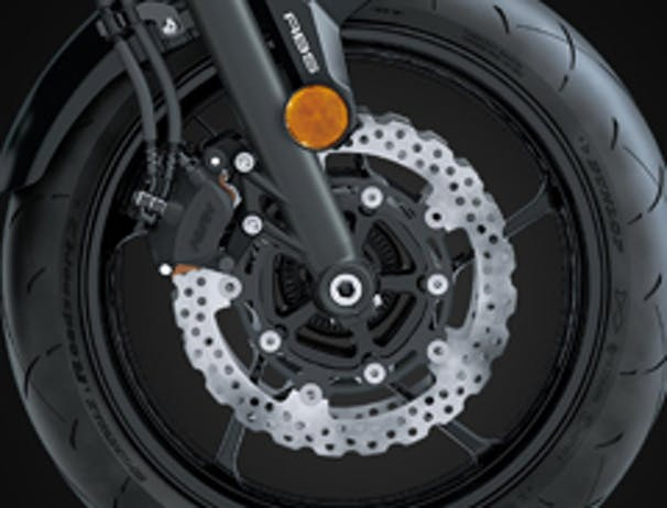 Kawasaki Z650L SE brakes