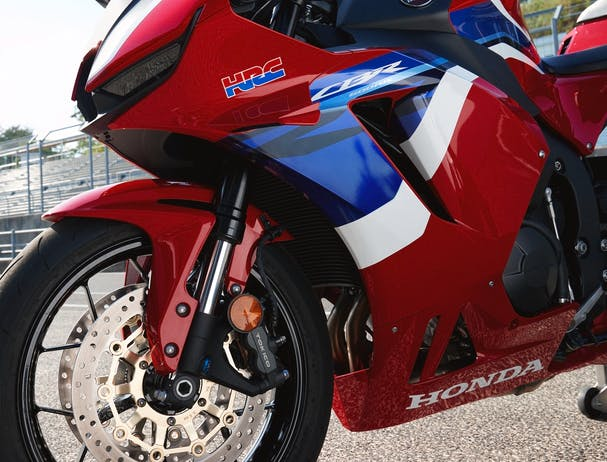 Honda CBR600R front suspension
