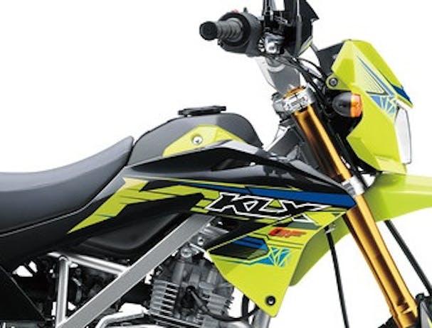 Kawasaki KLX150BF SE fuel tank