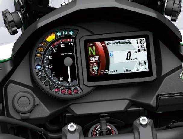 Kawasaki Versys 1000 SE speedometer