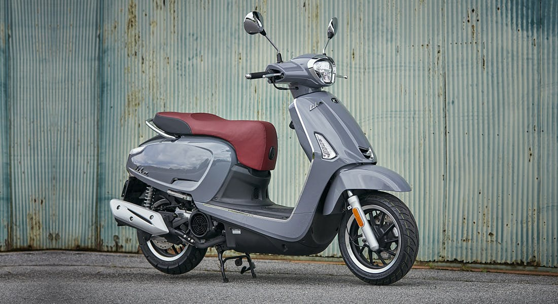 KYMCO LIKE 150 in grey colour