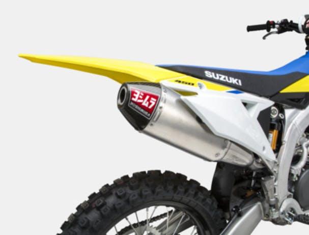 SUZUKI RM-Z450 exhaust system