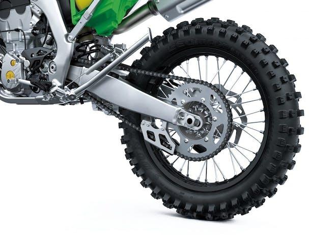 Kawasaki KX250X rear wheels