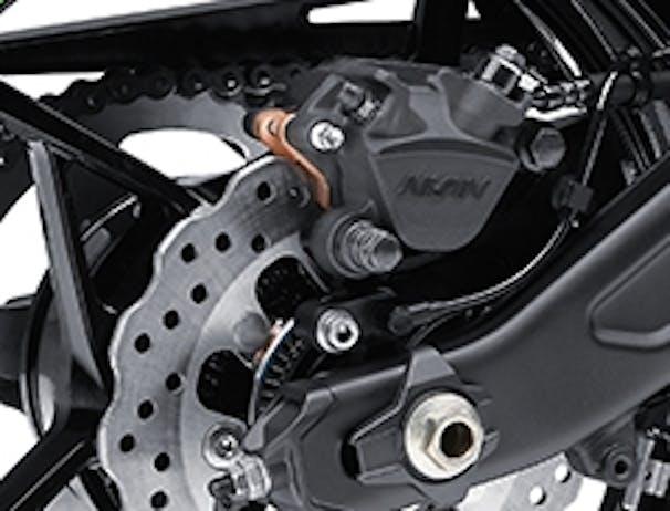 Kawasaki Ninja 650L SE rear brakes