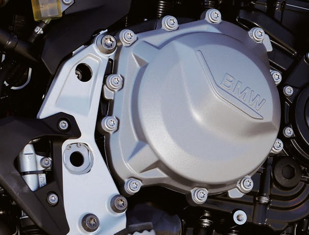 BMW F 850 GS Rallye engine