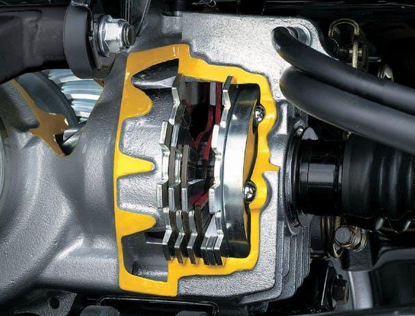 SUZUKI KINGQUAD 750AXI 4x4 PS rear brake