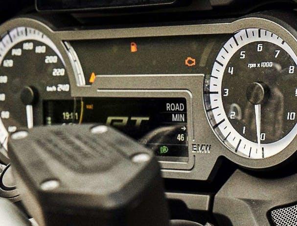 BMW R 1250 RT (SPEZIAL) display panel