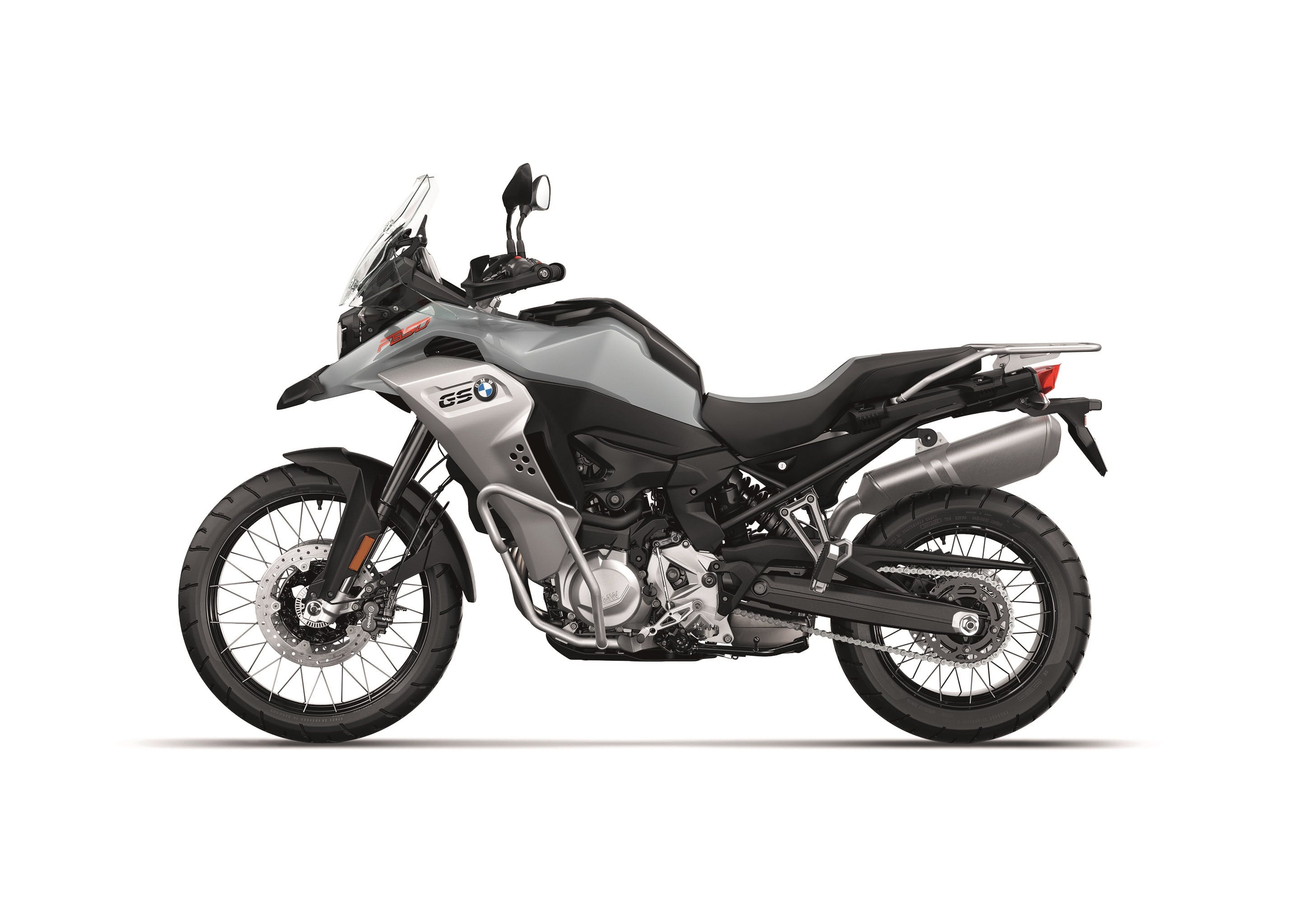 BMW F 850 GS ADVENTURE in ice grey colour