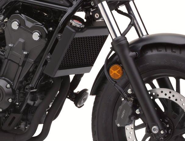 Honda CMX500 front suspension