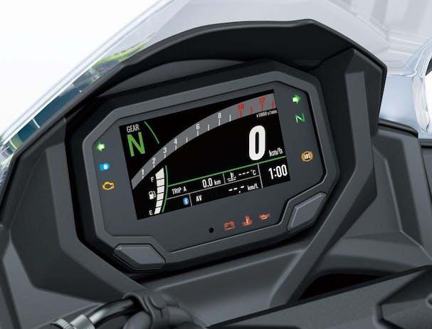 Kawasaki Ninja 650L SE TFT display