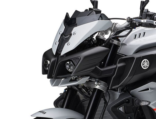 MT-10 front mask with LED headlights