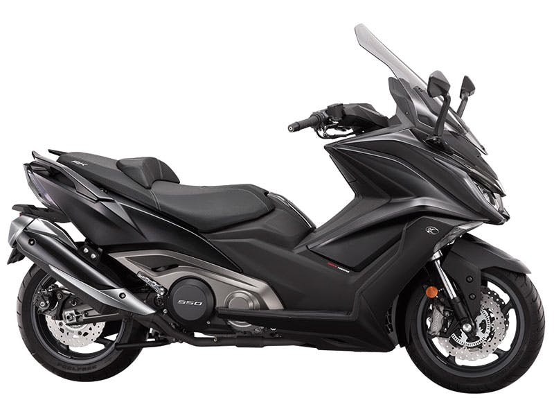 KYMCO AK 550 in new-matte black