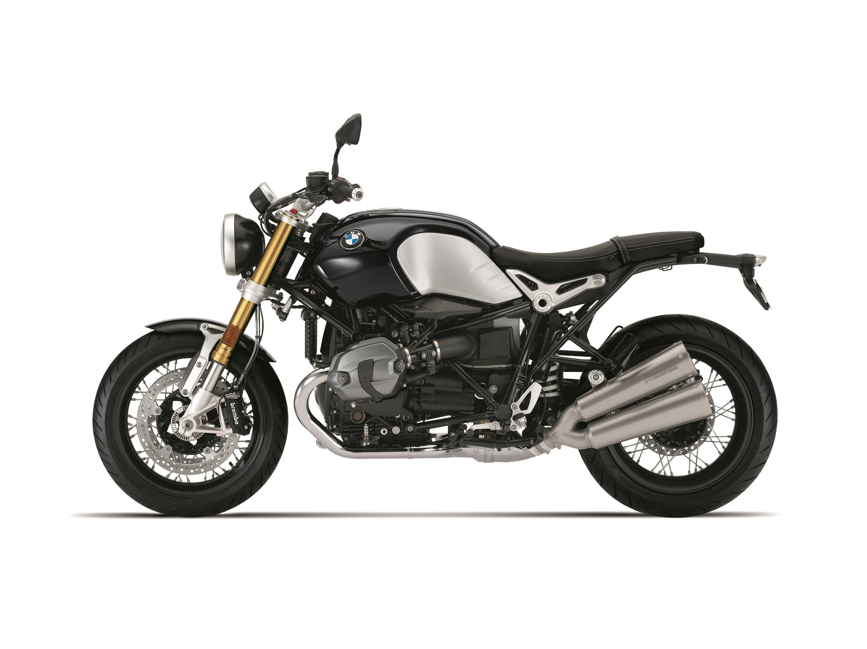 BMW R NINET SPEZIAL in black storm metallic colour