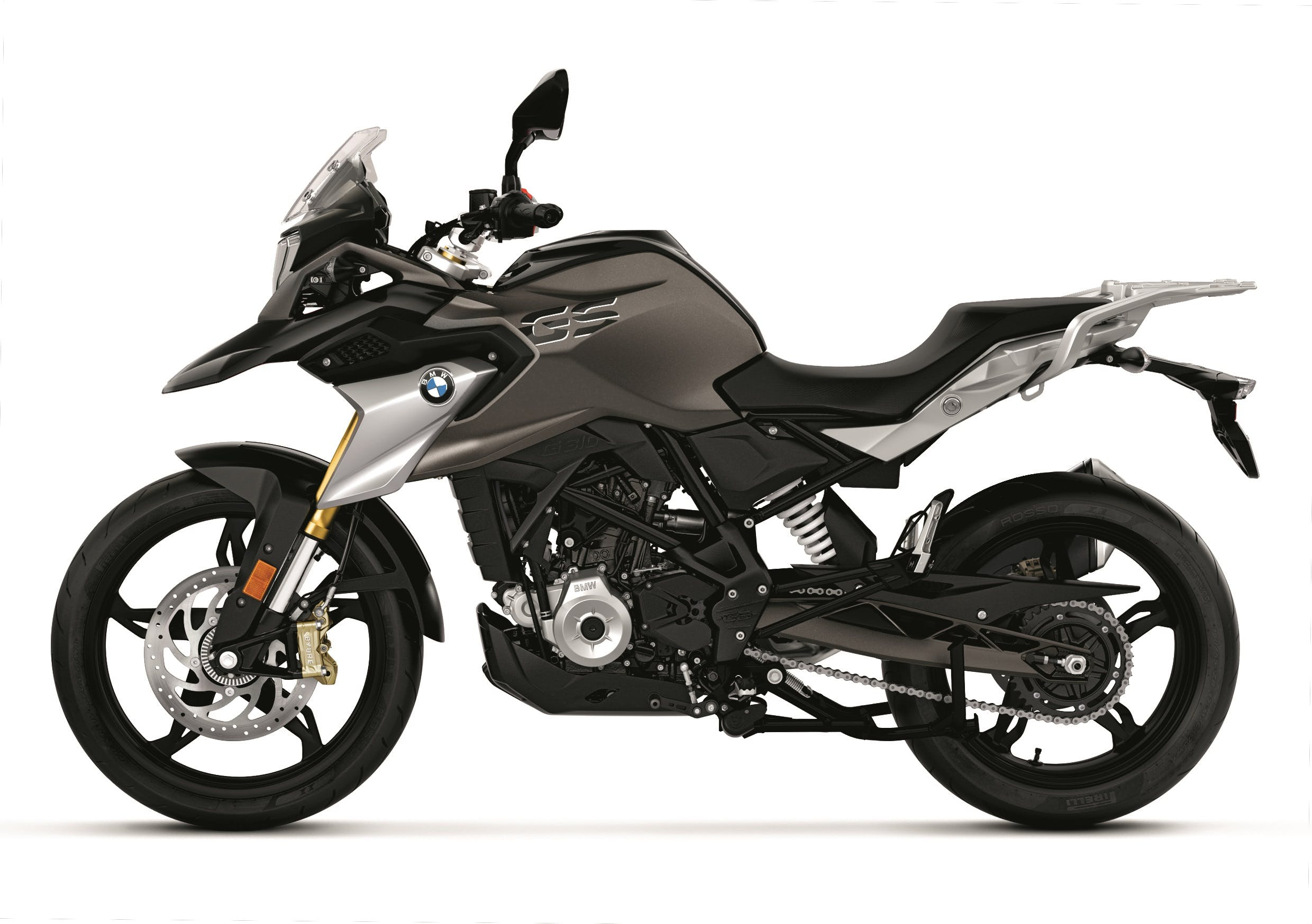 BMW G 310 GS in cosmic black colour