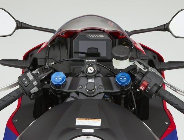 Honda CBR600RR dashboard