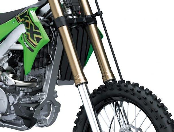 KawasakiI KX250 suspension