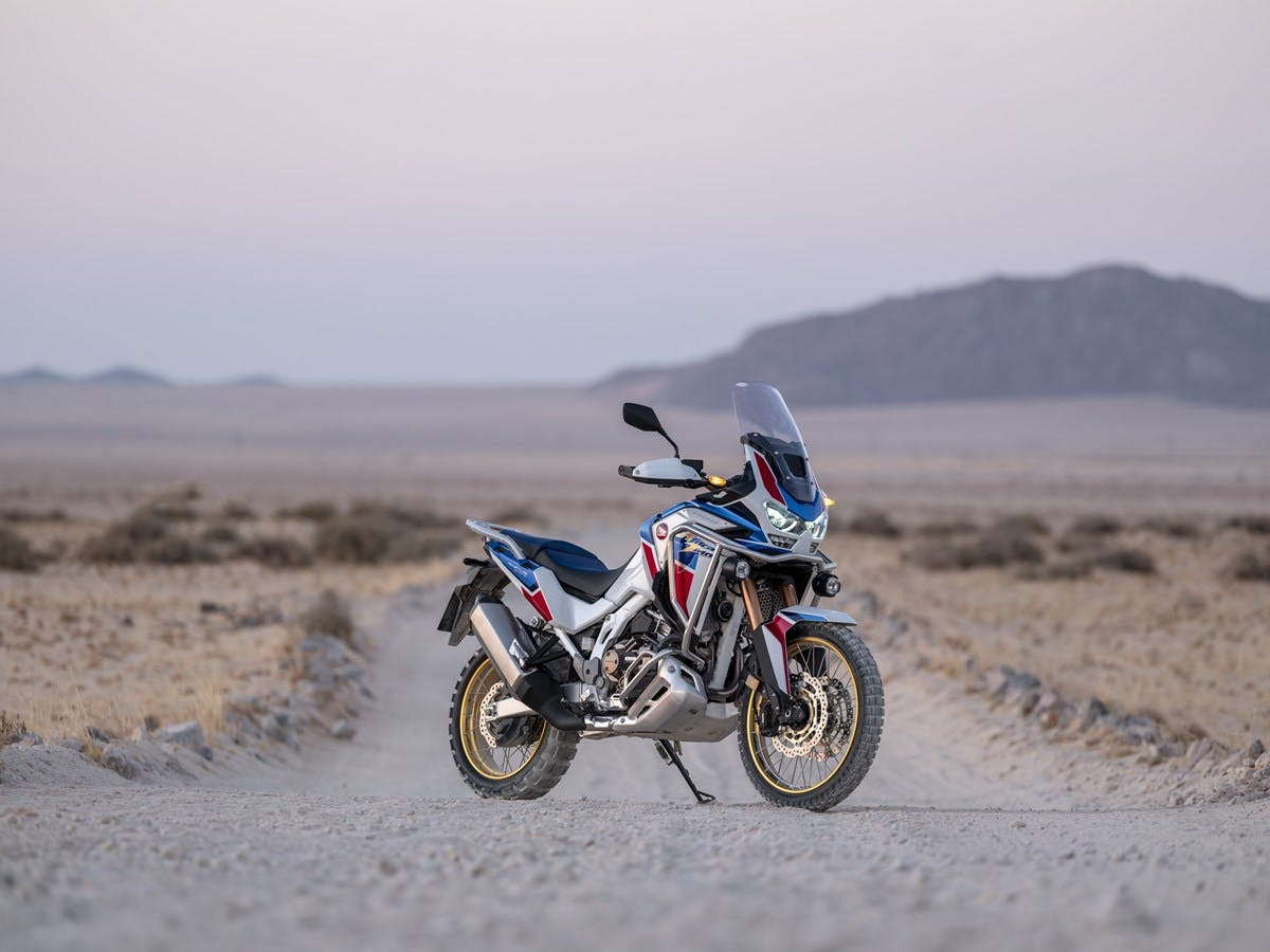 Honda 2018 Africa Twin Adventure Sports DCT, parked