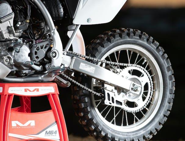 Honda CRF150R rear disc brake
