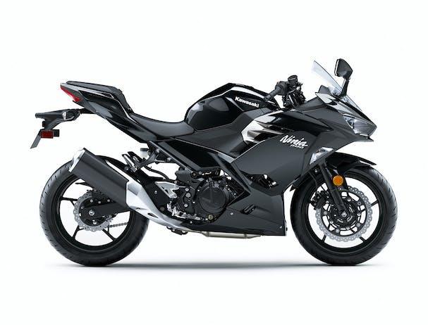 2020 Kawasaki Ninja 400 in Black