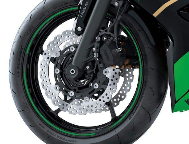 Kawasaki Ninja 650L SE front brakes