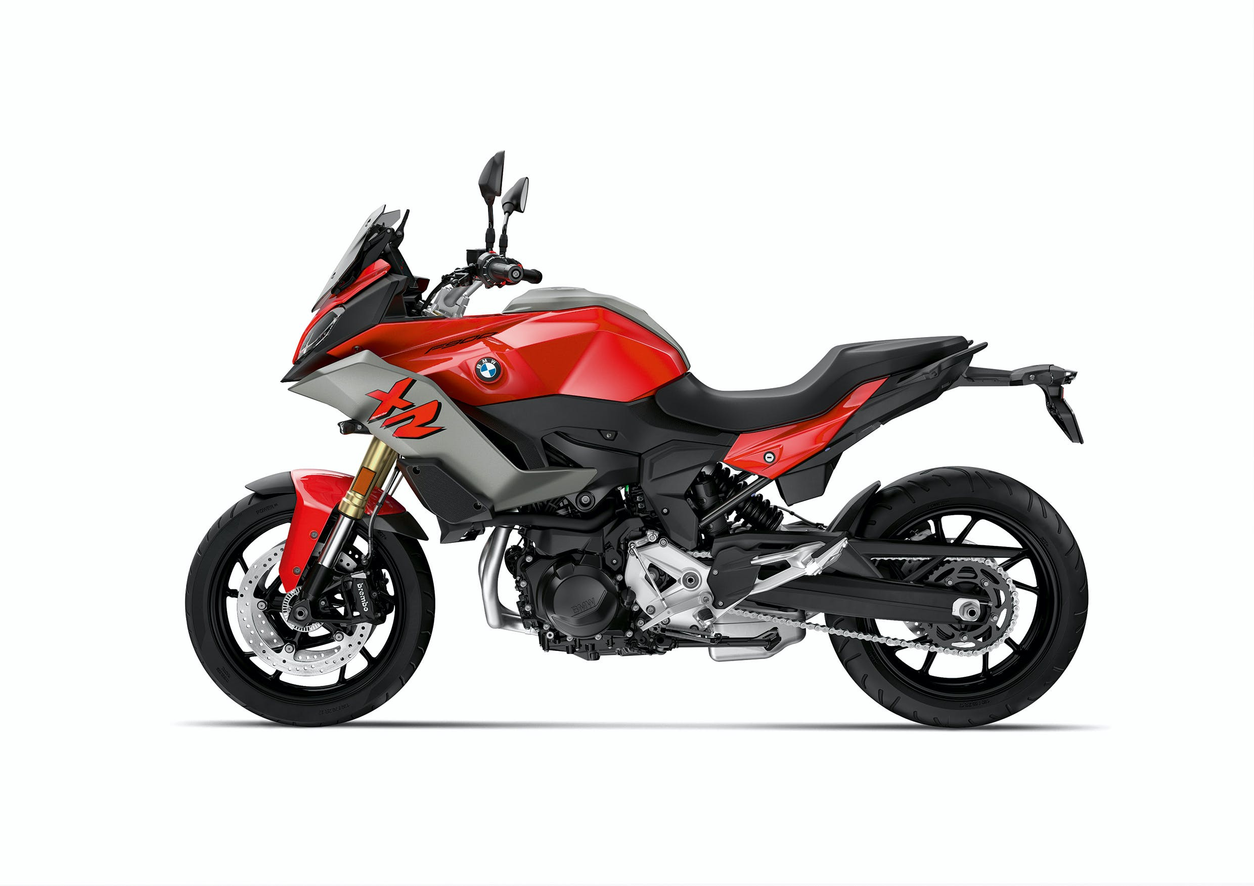 BMW F 900 XR in Sport Style - Racing Red colour