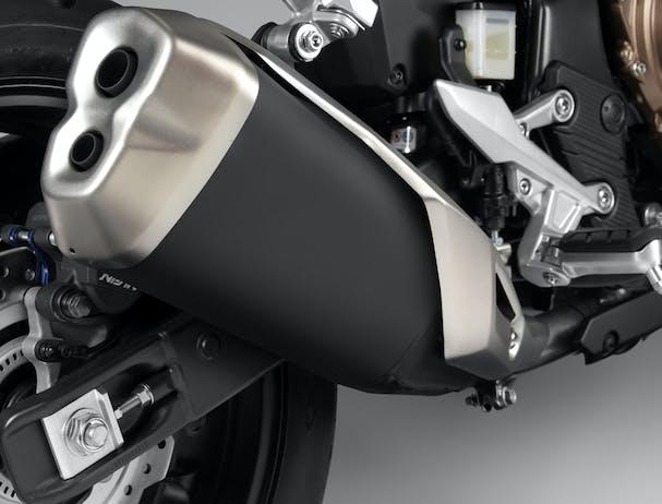 Honda CB500F exhaust