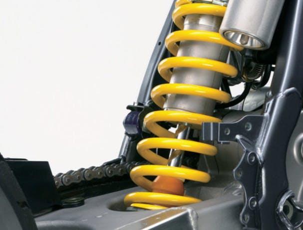 SUZUKI DR-Z400SM rear suspension