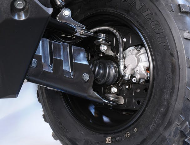 SUZUKI KINGQUAD 400 ASI 4x4 front brake