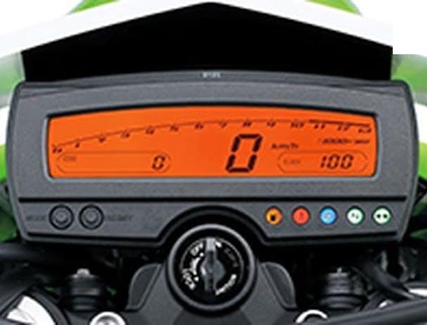 Kawasaki KLX250S speedometer
