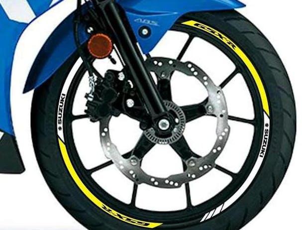 Suzuki GSX-R125 aluminium wheels