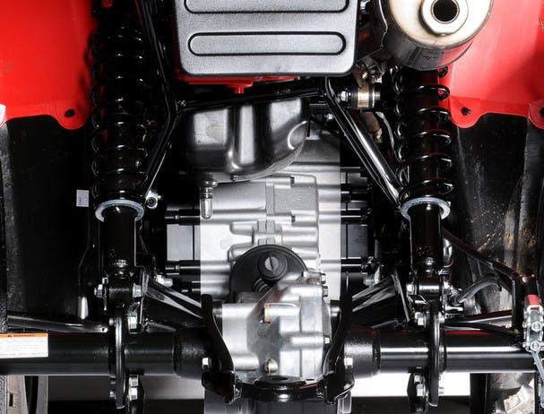 SUZUKI KINGQUAD 400 ASI 4x4 rear suspension