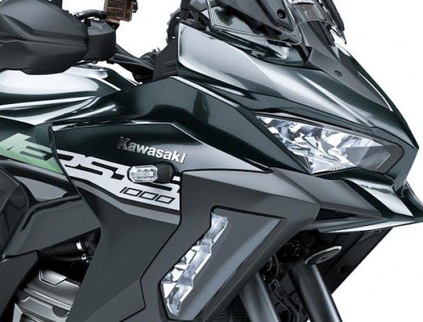 Kawasaki Versys 1000 SE LED headlamps