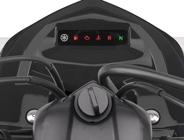 Yamaha YFM700R ergonomic controls