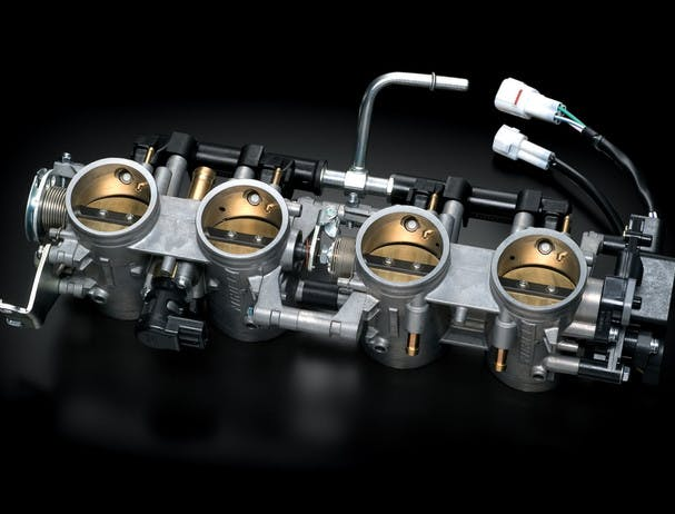 SUZUKI HAYABUSA throttle valve