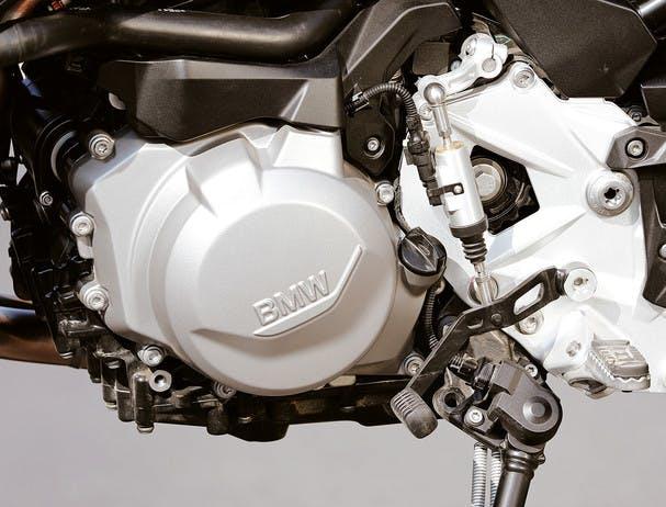 BMW F 750 GS TOUR engine