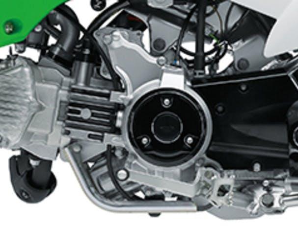 KAWASAKI KLX110RL engine close up