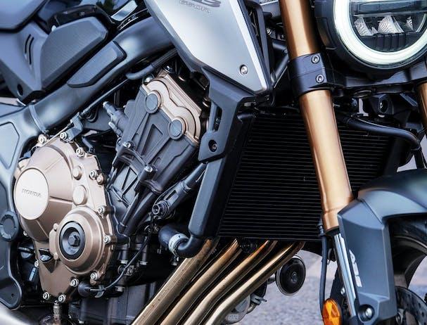 Honda CB650R exhaust