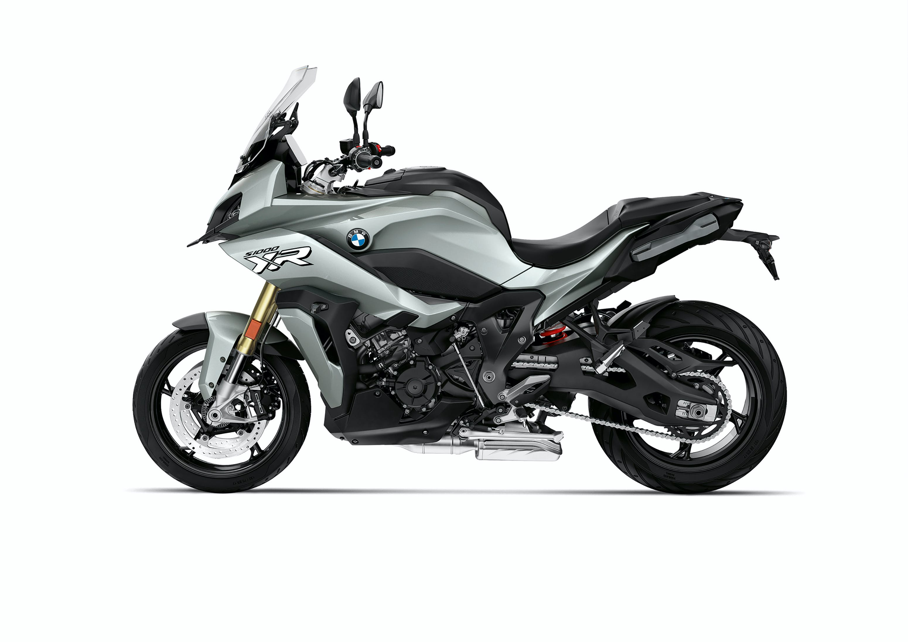 BMW S 1000 XR in Ice Grey colour