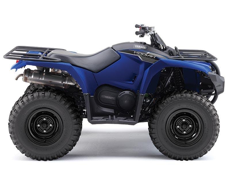 Yamaha Kodiak 450 in steel blue colour