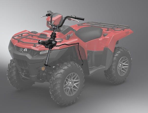 SUZUKI KINGQUAD 500AXI 4x4 PS steering system
