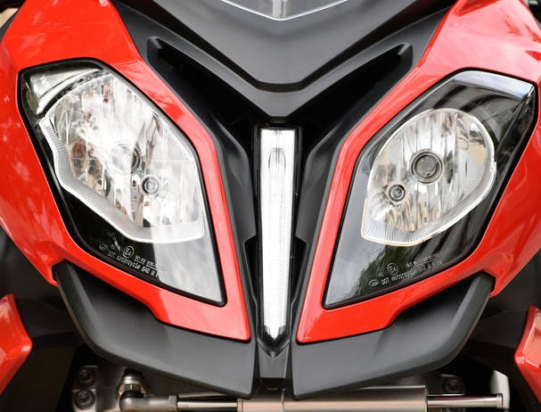 BMW S 1000 XR HP front look