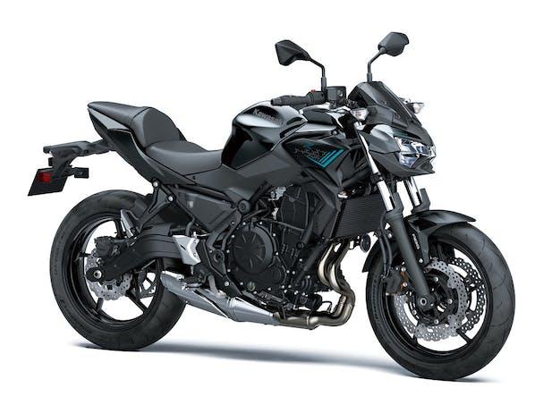Kawasaki Z650L in Metallic Spark Black with Metallic Flat Spark Black colour