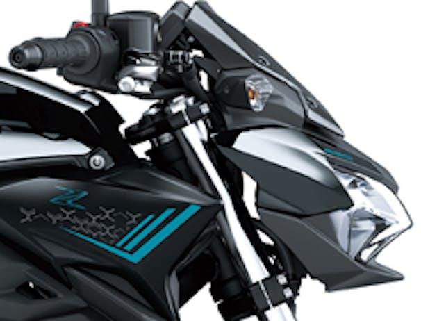 Kawasaki Z650L front face