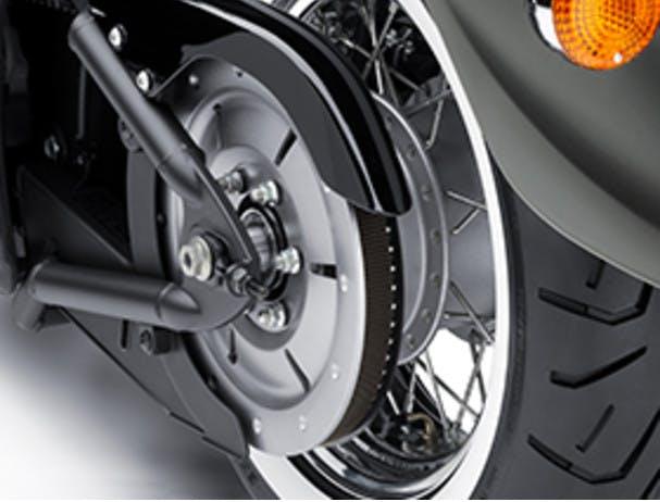 KAWASAKI VULCAN 900 CLASSIC rear wheel