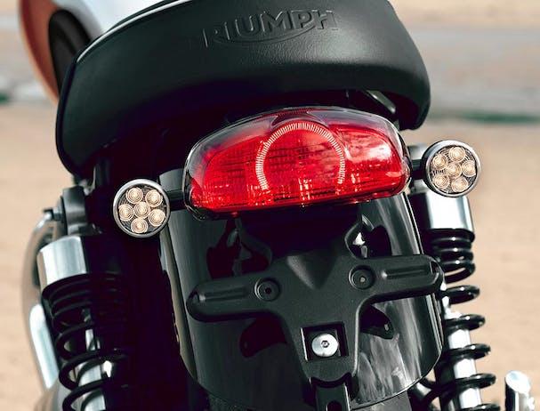 Triumph Bud Ekins T100 LED indicators